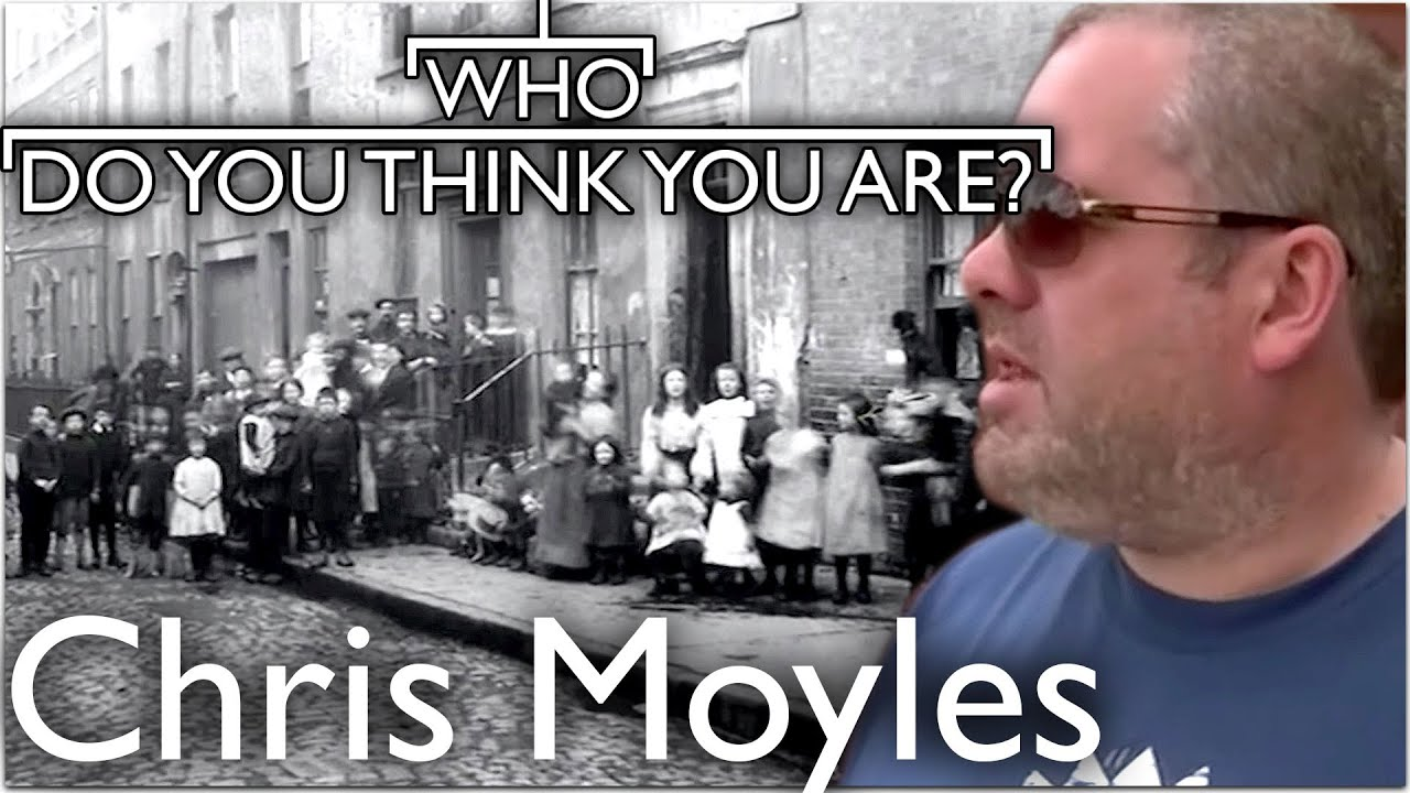 Chris Moyles Visits Irish Slums | Who Do You Think You Are