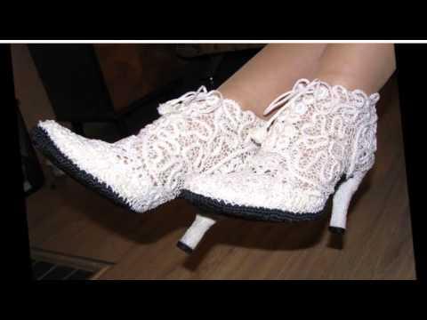 летняя вязаная обувь для женщин Youtube