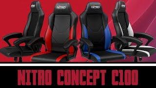 [Cowcot TV] Présentation siège Gamer Nitro Concept C100