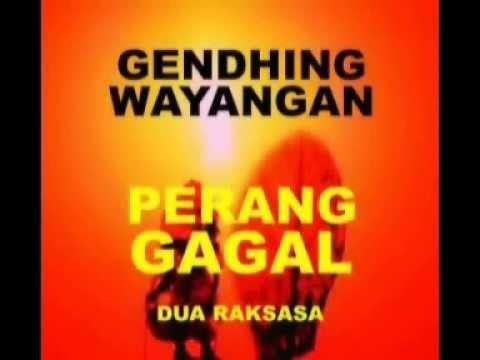 GENDHING WAYANGAN 15 PERANG GAGAL