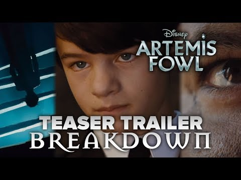 Artemis Fowl Teaser Trailer BREAKDOWN!