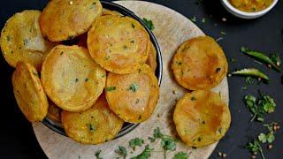 आलू और सूजी की पुरिया।।मसालेदार और खुशबुदार पुरिया।। दिवाली पर बनाये स्पेशल स्वादिष्ट पुरिया।।