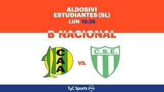 Primera B Nacional: Aldosivi vs. Estudiantes (SL) | #BNacionalenTyCSports