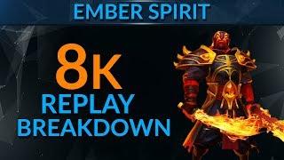 PRO Ember Spirit Replay Analysis ft. Sammyboy | Dota 2 Guide