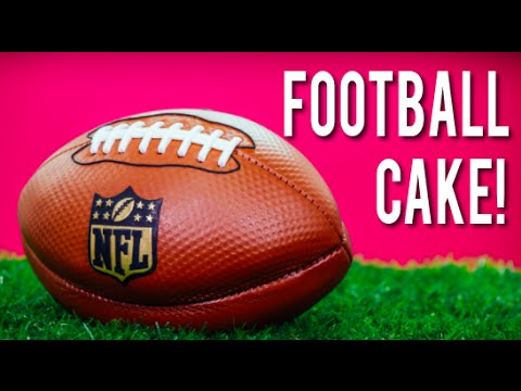 How To Make A Football Cake Chocolate Cake Italian Meringue Buttercream For The Nfl Kickoff