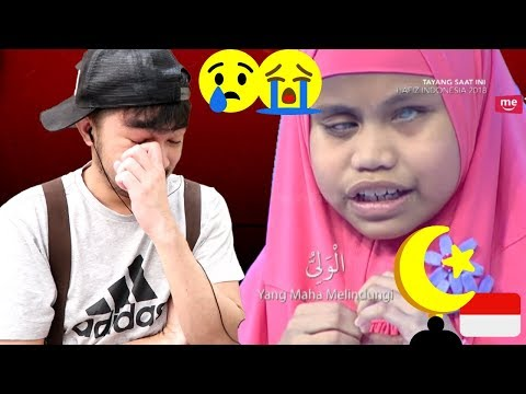 CHRISTIANS TO HAFIZ INDONESIA 2018 - Hafalan Almaul Husna Kayla Bikin Satu Studio Menangis