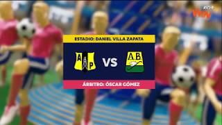 Alianza Petrolera vs Bucaramanga - Mejores jugadas - Fecha 10 Liga Aguila II 2018