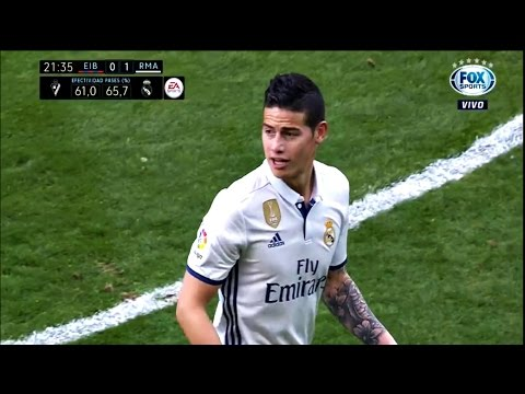 James Rodriguez vs Eibar HD 720p 04/03/2017