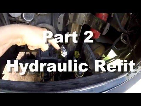 Removing Hydraulic Lines Rv Hydraulics 2