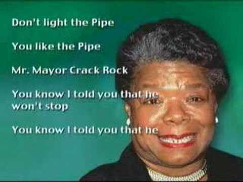 Marion Barry Fight The Pipe Poem