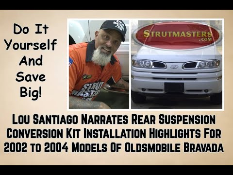 How To Replace The Rear Air Suspension On A Olds Bravada By Lou Santiago