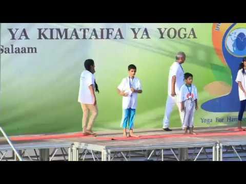 International Day of Yoga: Celebrations in Dar-es-Salaam