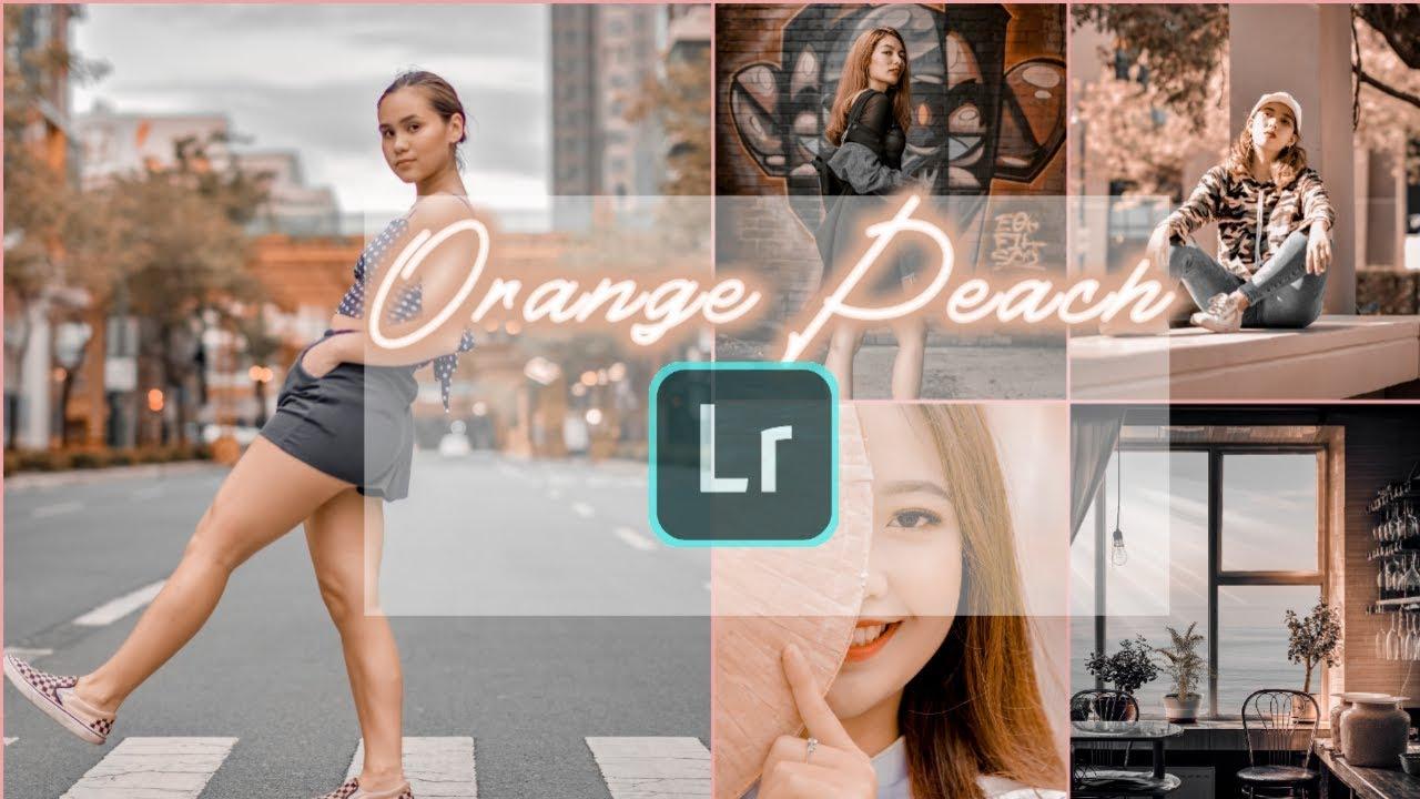 lightroom mobile presets free 2019 | Lightroom cc editing tutorial mobile |  Orange Peach Preset 2019