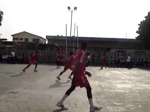 ASOMDWE HANDBALL CLUB VRS GHANA NAVY 13/07/2016 FIRST HALF