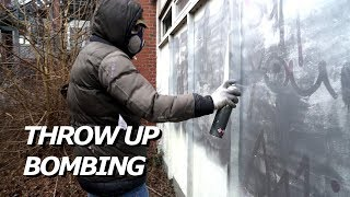 GRAFFITI - Throw Up Bombing - Raw Footage - WSLY