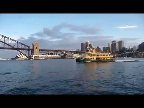 Travel - Sydney Harbour afternoon