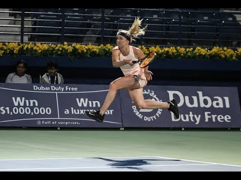 2018 Dubai Second Round | Elina Svitolina vs. Wang Qiang | WTA Highlights