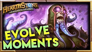 Evolve Best Moments   Hearthstone   Funny Fail Lucky Moments