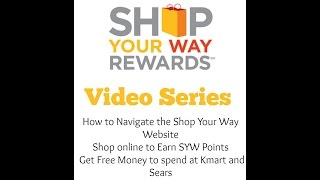 How to Use Shop Your Way, Navigate the site & Get FREE Money to Spend(Shop Your Way is an AWESOME, EASY and FREE way to save a lot of money! With a Personal shopper (Me) You will score HOT deals, get FREE Money to ..., 2015-09-16T21:54:01.000Z)