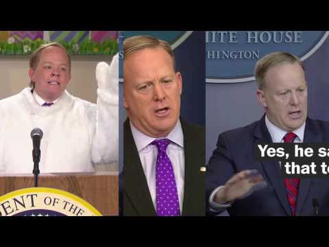 Thumbnail: How Melissa McCarthy interprets Sean Spicer on SNL