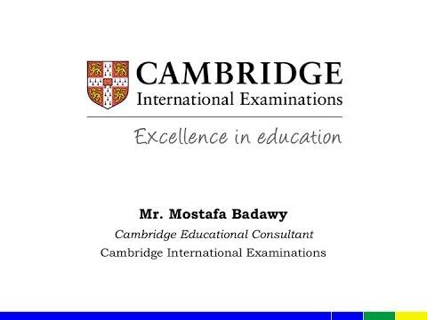 Cambridge - IGCSE Information Session 28/3/2017 - GVS