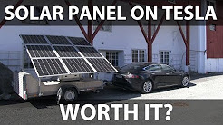 Are solar panels on Tesla worth it?