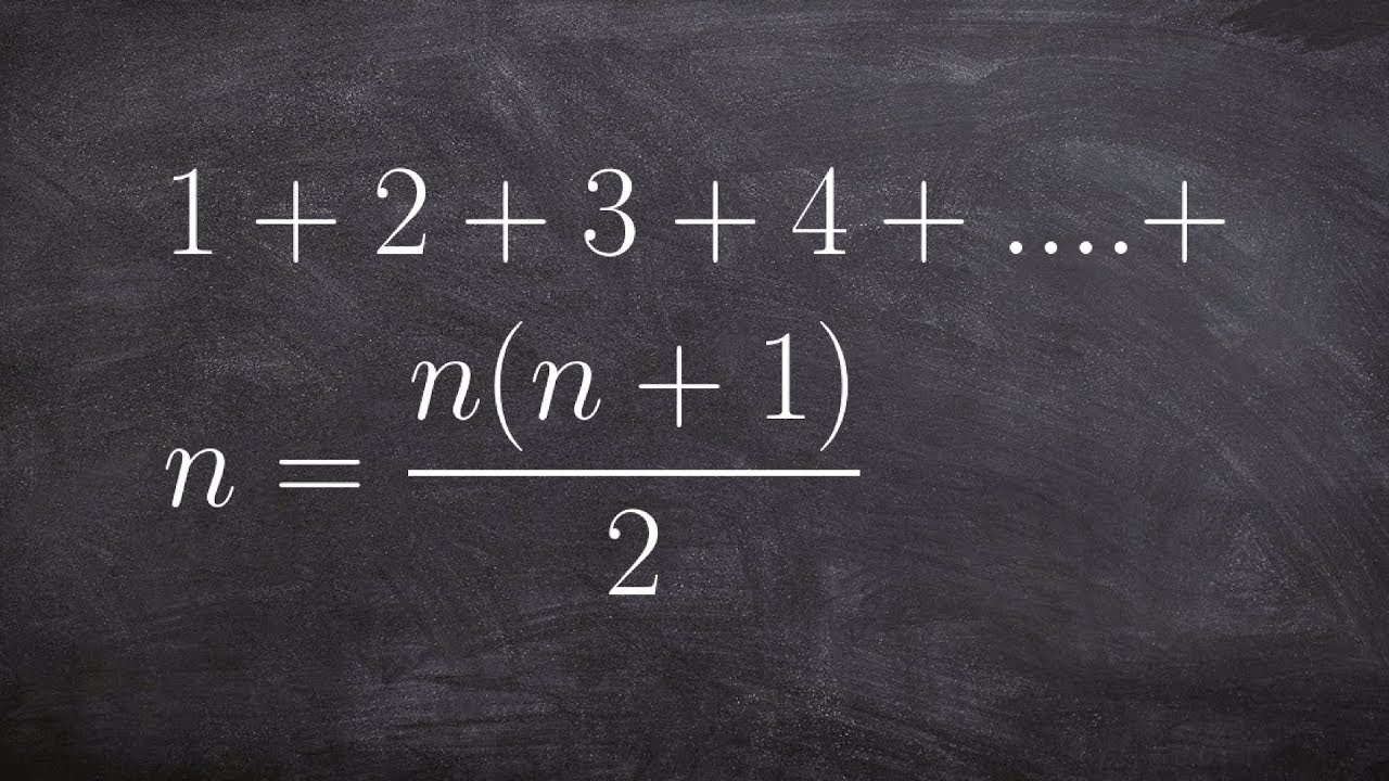 Learn how to use mathematical induction to prove a formula