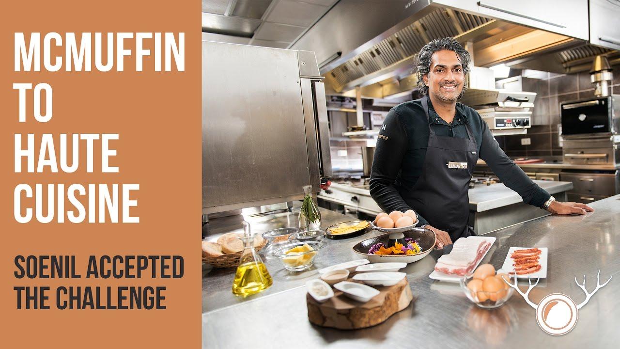 master chef transforms mcmuffin bacon egg into haute cuisine youtube. Black Bedroom Furniture Sets. Home Design Ideas