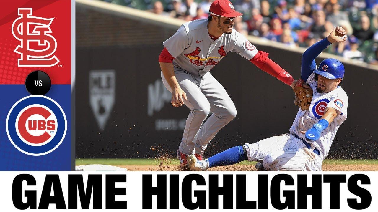 Download Cardinals vs. Cubs Game Highlights (9/26/21) | MLB Highlights