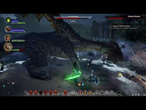 Dragon age inquisition sandy howler of the hissing wastes youtube