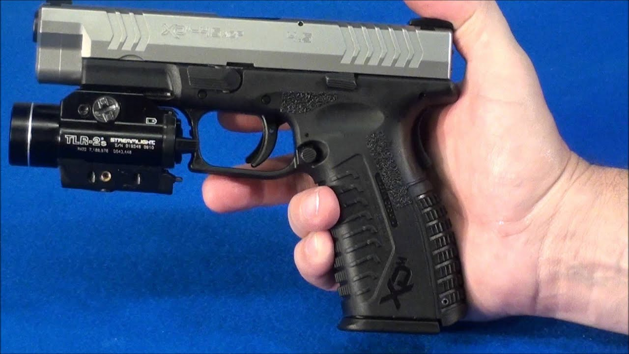 "Springfield Xdm 45 Acp Review ""close Up""  Youtube"