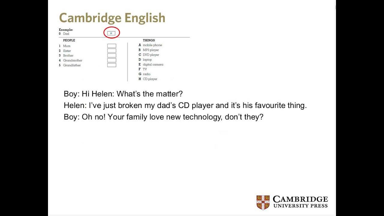 Exam Tips For Cambridge English Key Schools
