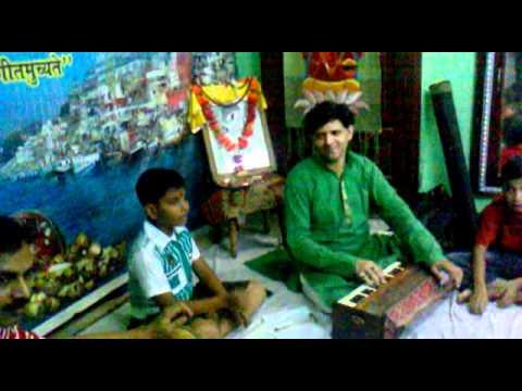 pt.ganesh mishra student singing kajri