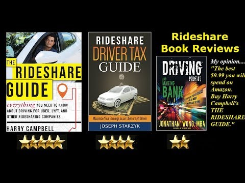 The Rideshare Guide by Harry Campbell  Book review  5 STARS