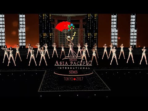 Miss Asia Pacific International Sims 2017: Opening and Top 15
