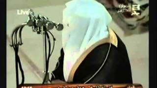الشيخ عبدالرحمن السديس تلاوة رائعة سورة الفاتحة