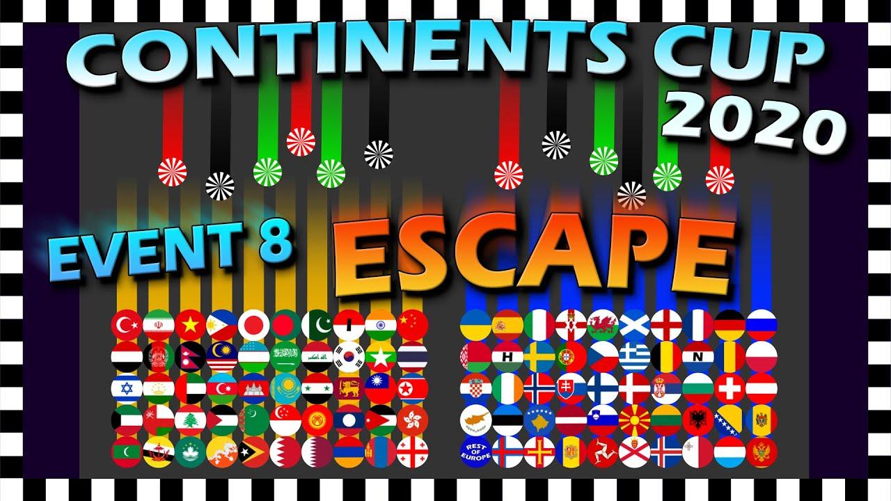 Escape Marble Race - Continents Cup - Event 8