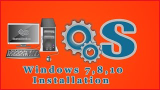 Install windows 7,8,10 OS in Tamil New