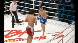 Ashihara Karate - Alexandr Lavrushin vs Sergey Epihin, K-1 fight - Battle Of The Champions 2008