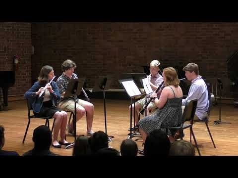 Woodwind Quintet, 2018 Furman University Band & Orchestra Camp