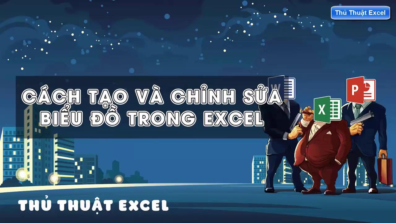 Thủ Thuật Excel – Cách tạo và chỉnh sửa biểu đồ trong Excel