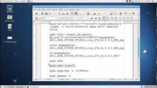 Installing Ralink RT5390 wireless card drivers on Debian or Ubuntu