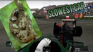 F1 2014 Slowest Car Challenge final