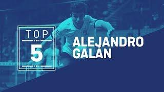 El Top 5 de Alejandro Galán | World Padel Tour