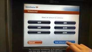 アメリカ(海外)の銀行ATMの使い方・操作方法(英語のATM使用方法、日本の銀行の海外引き出しも)
