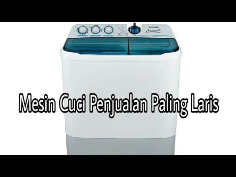 REVIEW Mesin Cuci Sharp 2 Tabung 8Kg ES-T 85 CR