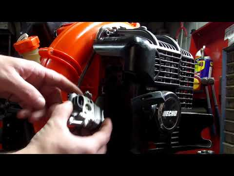 Echo pb 500t Installing New Carburetor