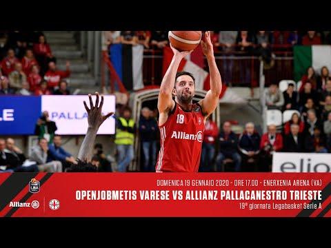 Openjobmetis Varese Vs Allianz Pallacanestro Trieste | LBA 19° Giornata