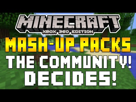 Minecraft Xbox 360 & XB1 - FUTURE MASH-UP PACKS & SKINS PACKS + HALLOWEEN TEXTUREPACK [INFO]
