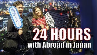 """A quick behind the scenes vlog from the Abroad in Japan """"Journey Ac..."""
